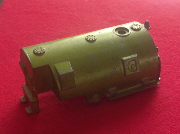 ORIGINAL Dinky Toys 451 Johnston Road Sweeper Green Rear Contain Tank